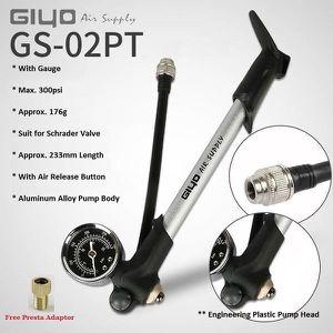 Pompe avec jauge vélo 88 lb//po2 haute pression choc Mini pompe tuyau Air g