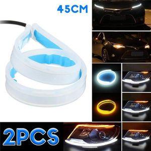 12 V-Round COB voiture DEL Eagle Eye Fog Light DRL Feux de circulation diurne étanche
