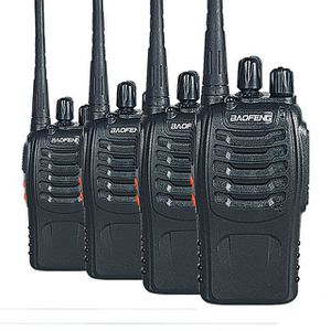 TALKIE-WALKIE 4PCS Walkie Talkie Baofeng BF-888S portable avec V