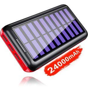 BATTERIE EXTERNE KEDRON Batterie Externe 24000mAh Chargeur Solaire