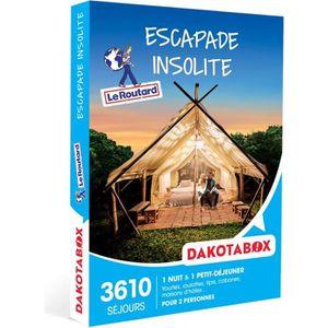 COFFRET SÉJOUR DAKOTABOX - Coffret Cadeau -Escapade insolite - 1