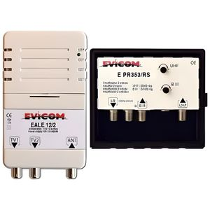 REPETEUR DE SIGNAL Evicom EKEV353RS - Kit préamplificateur UHF/VHF/SA