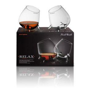 VERRE A DIGESTIF Final Touch Détendre verres à cognac et à dégustat