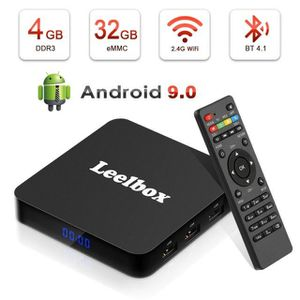 BOX MULTIMEDIA Leelbox® Q4 Smart tv box Android 9.0 TV 4K HDR Qua