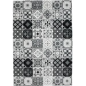 tapis carreaux de ciment achat vente tapis carreaux de ciment pas cher cdiscount. Black Bedroom Furniture Sets. Home Design Ideas