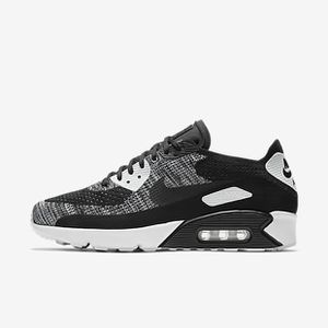 Basket Chaussure Pour Homme Nike Air Max 90 Ultra Flyknit Noir