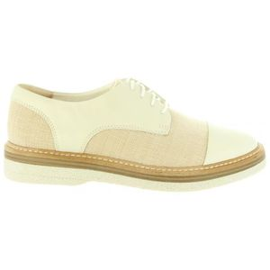 DERBY Chaussures pour Femme CLARKS 26132696 ZANTE WHITE
