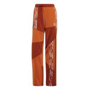 pantalon adidas femme orange
