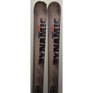 SKI Ski parabolique DYNAMIC Flush + Fixations