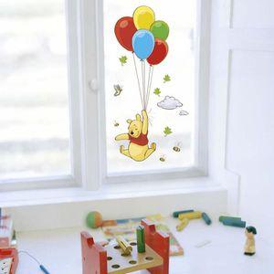 STICKERS Sticker Fenetre Winnie l ourson ballons