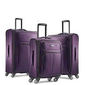 SET DE VALISES Set 3 valises, 4 roues pivotantes Violet