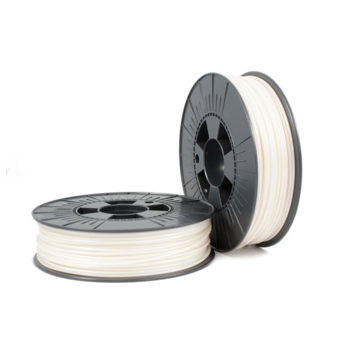 PLA 2,85mm pearl white ca. RAL 9001 0,75kg - 3D Filament...