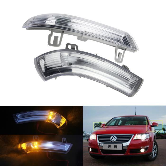 2x Clignotant Latéral Miroir Rétroviseur Indicateur Pour VW Golf 5 Passat EOS