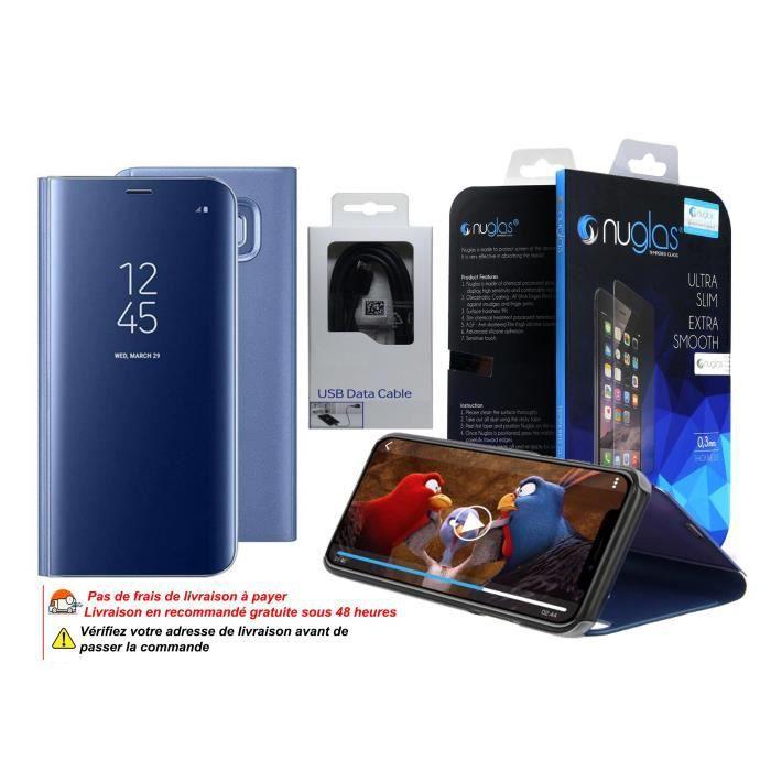 Pack d'accessoires Samsung Galaxy S10 Plus - Bleu