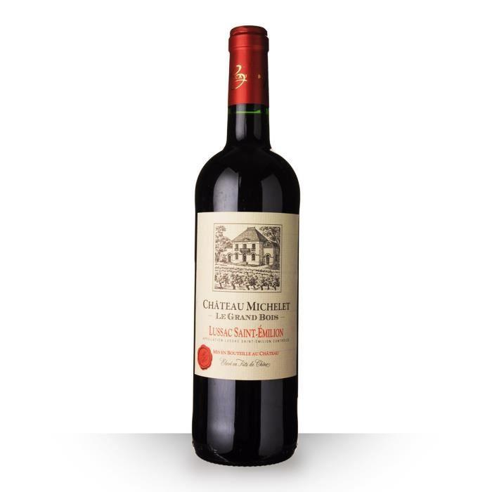 Château Michelet le Grand Bois 2016 AOC Lussac-Saint-Emilion - 75cl - Vin Rouge
