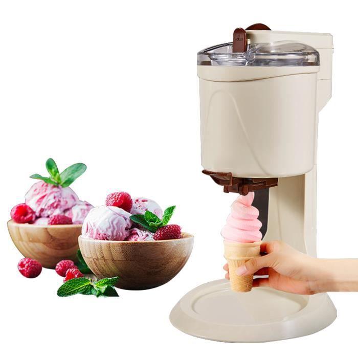 1L Machine à crème glacée avec Suggestions de recettes, Machine à sorbet Yaourtière Pour la maison