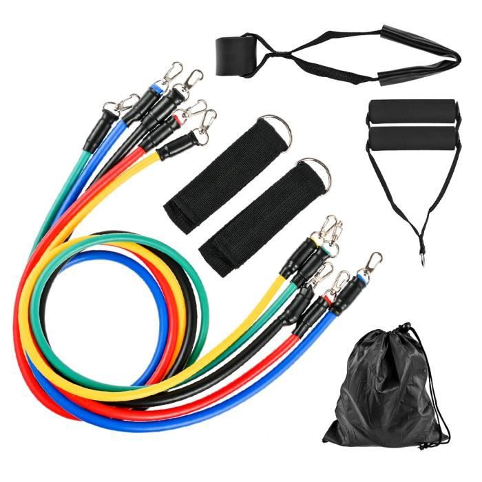 Accessoires Fitness - Musculation,Zacro 11 pièces bandes de résistance ensemble Crossfit entraînement exercice Yoga - Type Gstyle b