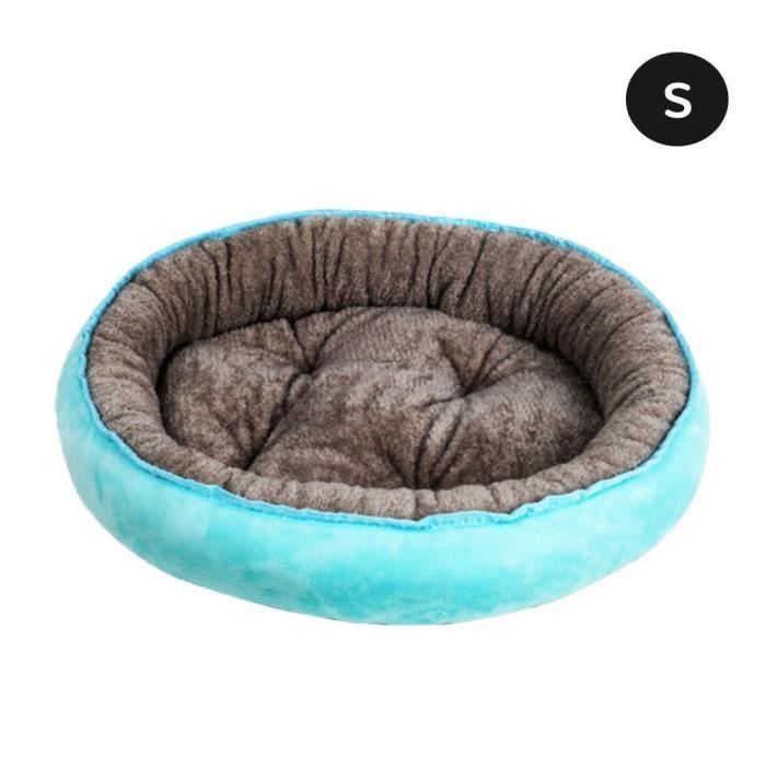 Corbeilles,Doux en peluche lit de couchage maison pour petit moyen gros chiens chats chien chat lit tapis hiver chaud - Type A-S