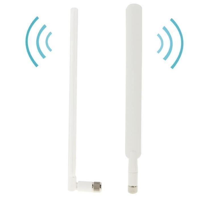 Antenne 4G LTE - Gain 5dBi - Connecteur filaire SMA Male pour modem Huawei