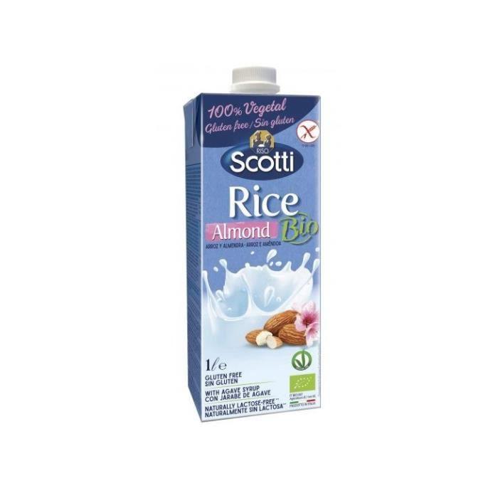 Boisson riz & amande 1l - Riso Scotti