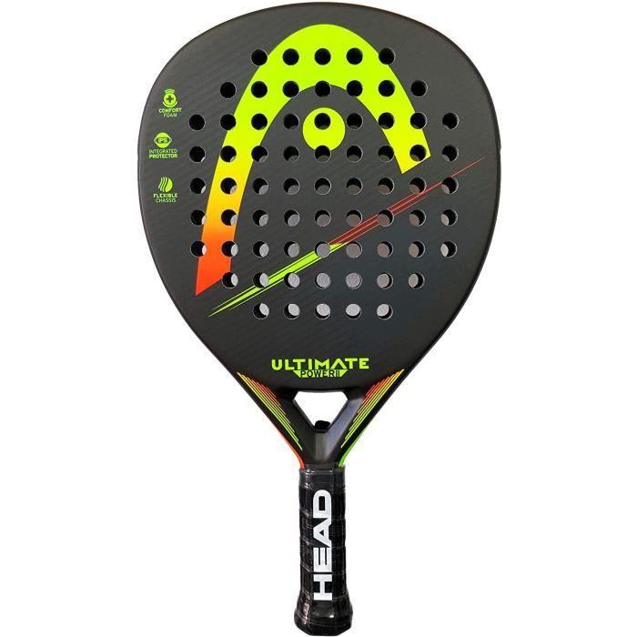 Raquette de padel Ultimate Power 2 Vert-jaune 18