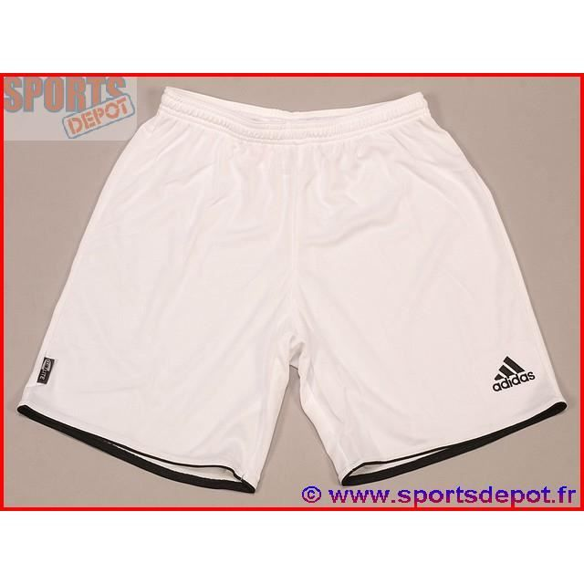 ADIDAS Short de football PARMA - Adulte - Blanc