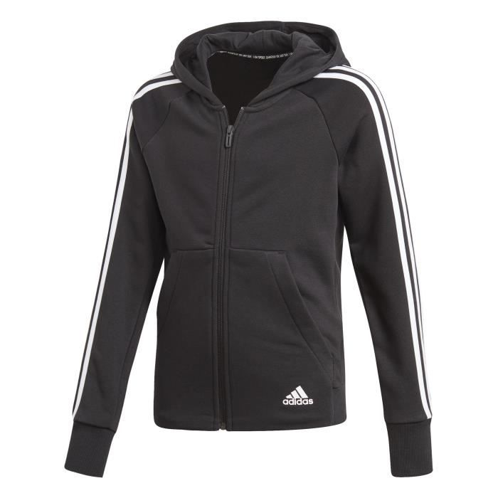 Adidas Performance Veste à capuche fille adidas Must Haves 3-Stripes Multisports