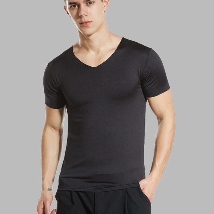 Tee-shirt à manches courtes à manches courtes pour hommes