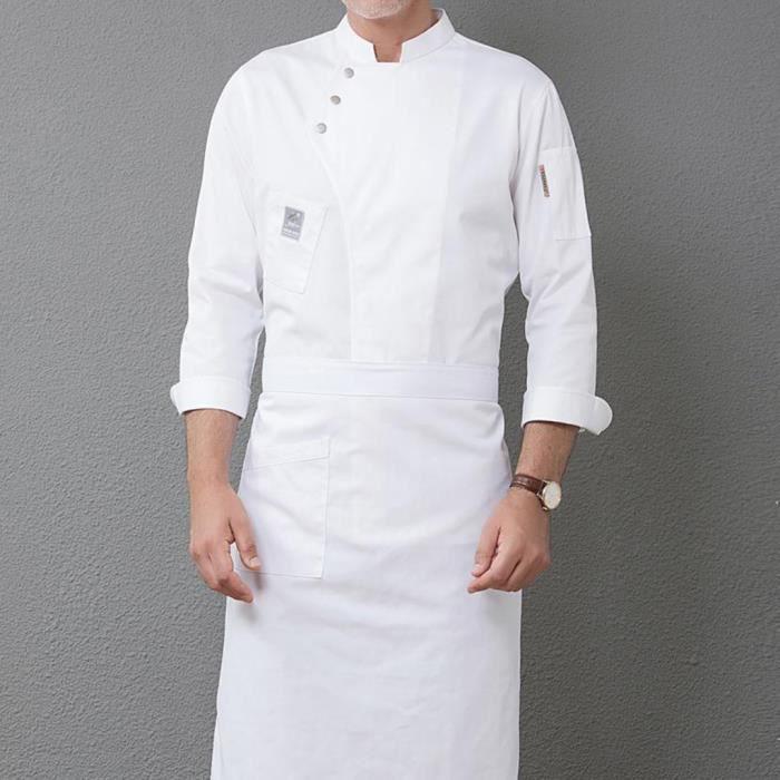 VESTE PROFESSIONNELLE Veste de cuisine unisexe 1 pièce