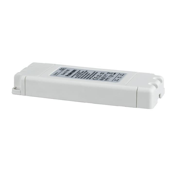 Paulmann 97782 transformateur électronique VDE Flat 105W blanc