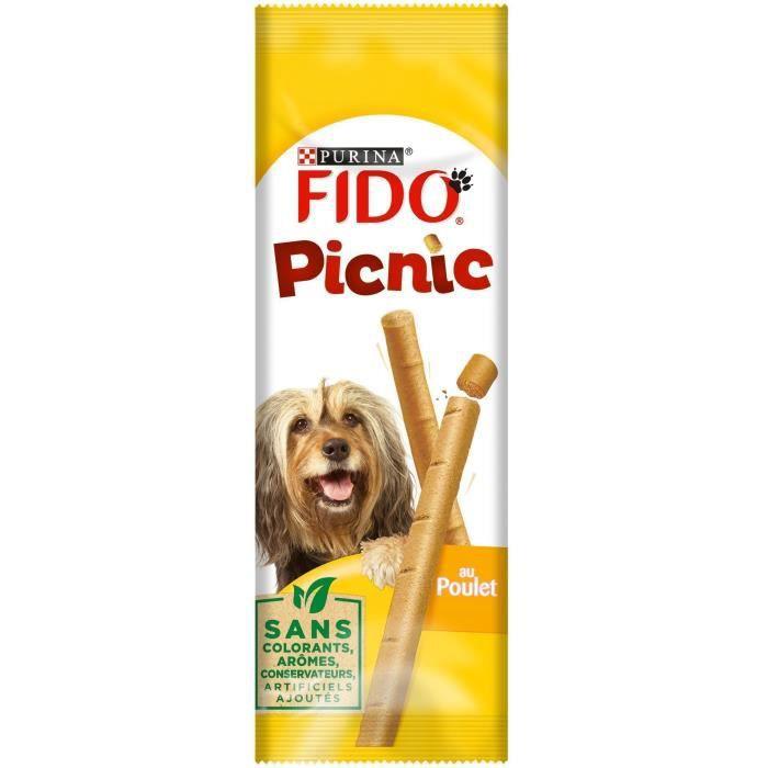 FIDO Picnic au poulet - Pour chien - 42 g