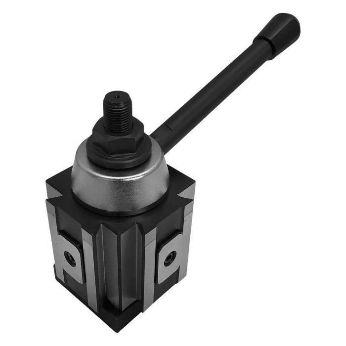 Piston Tool Post 10-15 Pouces Swing Changement Rapide Porte-Outil CNC Tour 250-200 Support de Lame de Coin