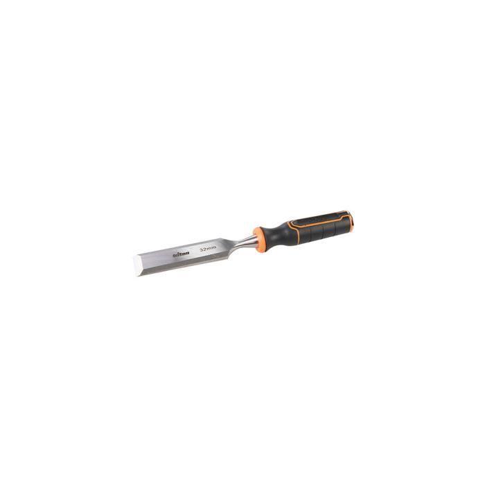 Ciseau à bois de menuisier manche bi-matière TWC32 - 32 mm - 589771 - Triton