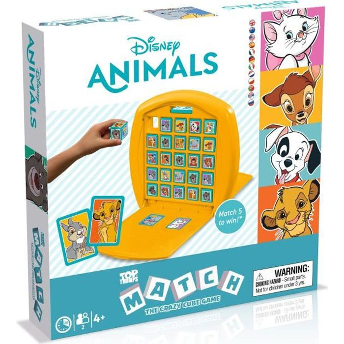 MATCH - Disney animaux