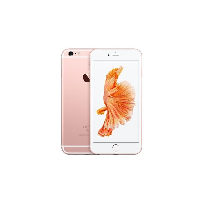 apple iphone 6s plus 128gb rose gold boite d 39 origine. Black Bedroom Furniture Sets. Home Design Ideas