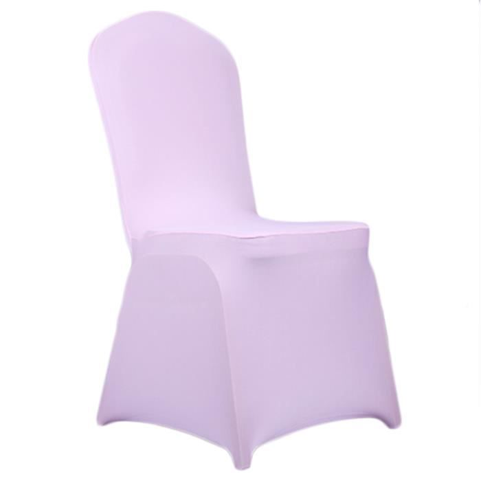 Housses de chaise stretch couvertures de chaise spandex for Housse couverture