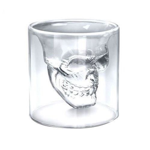 4x verre alcool tete mort head shot skull crysta achat vente verre a digestif cdiscount. Black Bedroom Furniture Sets. Home Design Ideas