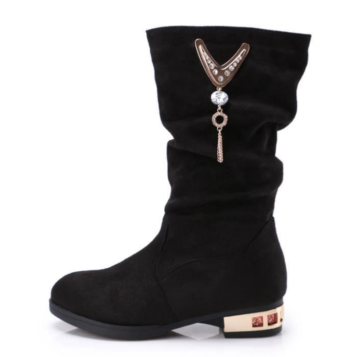 chaussures coton pour bottes les fille princesse en Bottines boots dans enfants Y7gfyvbI6m