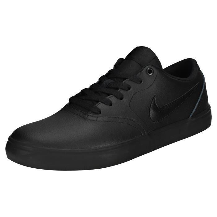 Nike SB Check Solar Homme Baskets Noir