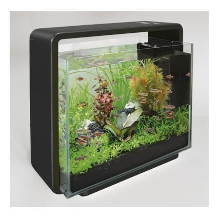 aquarium design home 40 noir achat vente aquarium aquarium design home 40 noi cdiscount. Black Bedroom Furniture Sets. Home Design Ideas