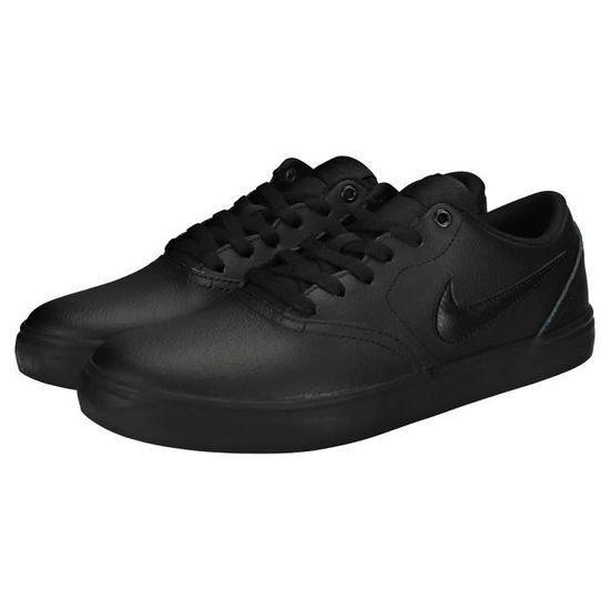 Nike SB Check Solar Homme Baskets Noir - Chaussures