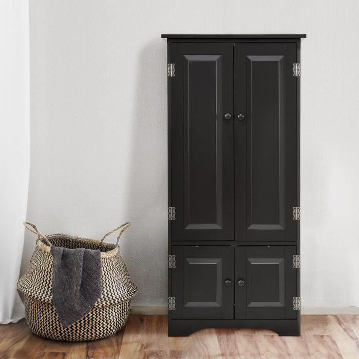 Rangement Pour Le Bois armoire de chambre en bois de style vintage pour rangement