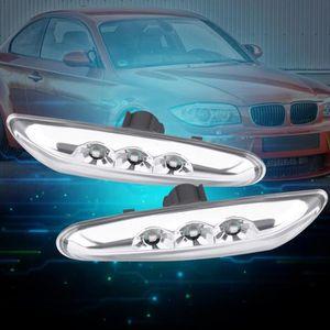 Clignotants latéraux voyant clignotant DEL BMW 1er e81 e82 e87 e60 e61 3er e90 e91 e92
