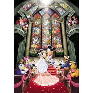 PUZZLE Jouet Tenyo Disney Fantasy Celebration Minnie et M