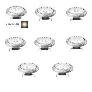 AMPOULE - LED LOT 8 AMPOULE SPOT LED G53 / AR111 15W 12V 30° - B