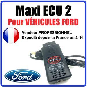 OUTIL DE DIAGNOSTIC Maxi ECU 2 + Interface MPM-COM Spécial FORD - Vali