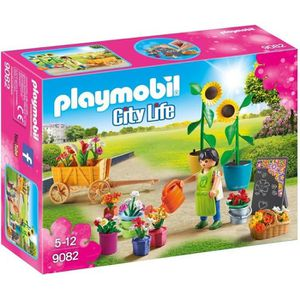 UNIVERS MINIATURE PLAYMOBIL 9082 - City Life - Fleuriste