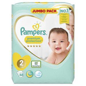 COUCHE Pampers Premium Protection, 68 Couches, pour bébé,