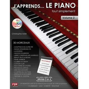 MÉTHODE J'apprends le piano tout simplement Volume 2 - Ast