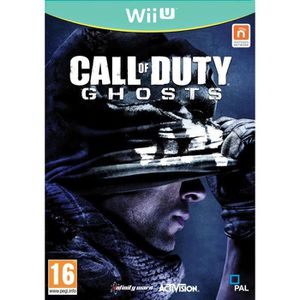 JEUX WII U CALL OF DUTY : GHOSTS [IMPORT ALLEMAND] [JEU WI…